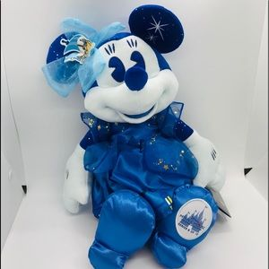 Minnie Mouse main attraction Peter Pan plush new